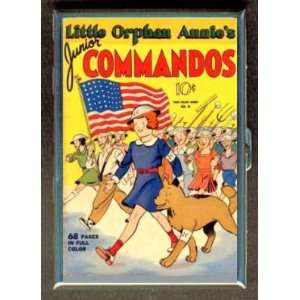 LITTLE ORPHAN ANNIE 40s COMIC ID CIGARETTE CASE WALLET