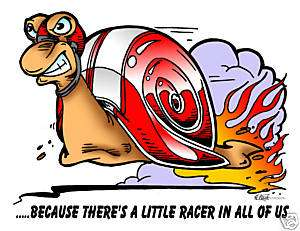 hot rod Racing snail kids t shirt