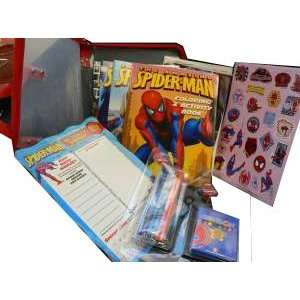 The Amazing Spider Man Activity Carry Case: Toys & Games