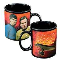 Classic Star Trek Kirk, Spock & Enterprise Ceramic Mug |