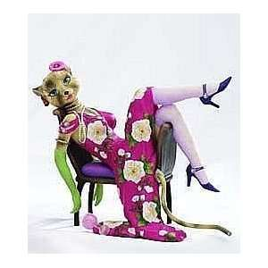 Katty Diva Alley Cat Figurine by Margaret Le Van and