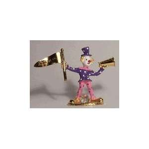Spoontiques Pewter Painted Cheerleader Clown: Everything