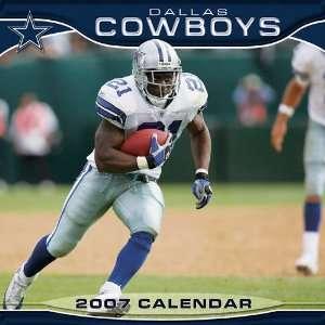 Dallas Cowboys 12x12 Wall Calendar 2007: Sports & Outdoors