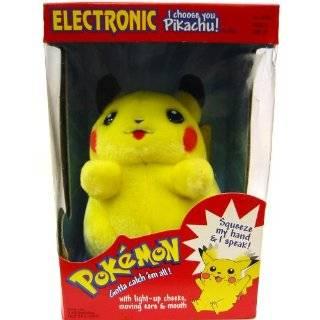 Pokemon Electronic Plush Pikachu Toys & Games