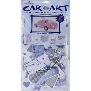 New wedding car kit 5 large pull bow 6m 2 ribbon white car art complete wedding car decorating kit lilac junglespirit Gallery