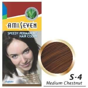 Permanen Hair Color, 2.11oz/60g, 1 Applicaion, Medium Chesnu, S 4