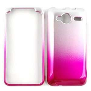 HTC EVO Shift / Knight 4G (6100) Two Tones, White and Pink