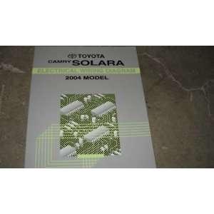 2004 Toyota Camry Solara Electrical Service Manual EWD Toyota