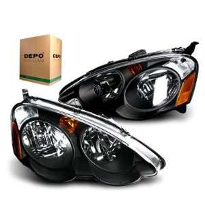 2003 Acura  on 2002 2003 2004 Acura Type Black Halo Projector Headlights Acura Car
