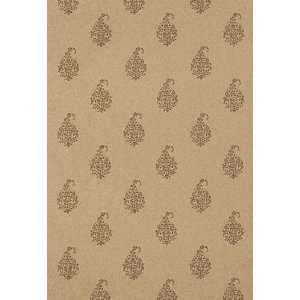Kerala Paisley Tabac by F Schumacher Wallpaper Home