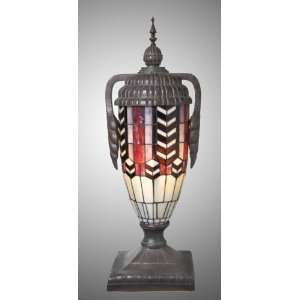 Brown Color Tiffany Trophy Lamp
