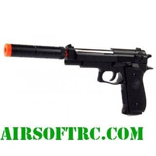 Double Eagle Spring M22 Silenced Pistol FPS 300 Airsoft Gun