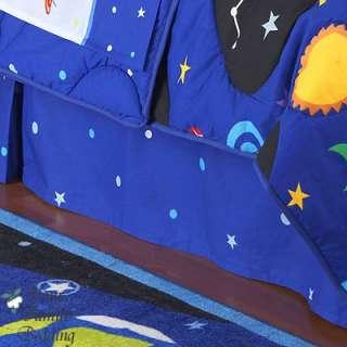 Outer Space Rocket Boy Children Kid Comforter Bedding Set Twin Full