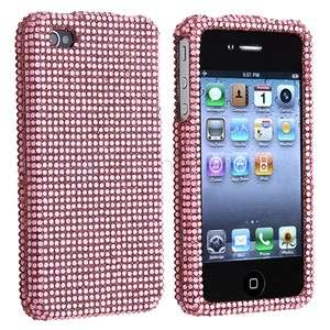 Rhinestone Bling Case Cover For iPhone 4 4S 4G 4GS 4th G IOS