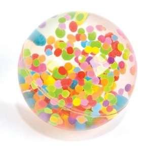 Confetti Bounce Ball Toys & Games