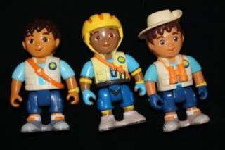 Go Diego Go Rescue Center Vehicles Figures Animals 21pc