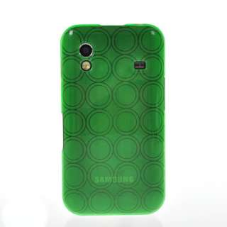 SOFT GEL TPU SILICONE CASE COVER + SCREEN FOR SAMSUNG S5830 GALAXY ACE
