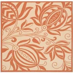 Safavieh CY2961 3201 Courtyard Collection Antigua 7 Feet