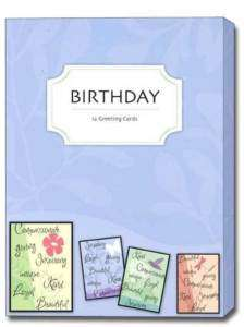 Celebrating You Boxed Birthday Cards 12 Greeting Cards