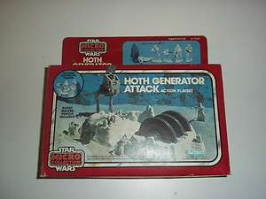 VINTAGE STAR WARS EMPIRE STRIKES BK MICRO COLLECTION HOTH GENERATOR
