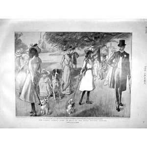 1899 Show Dogs Botanic Gardens Wimbledon KingS School