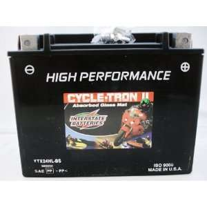 YTX24HL BS Cycle Tron Plus Battery Automotive