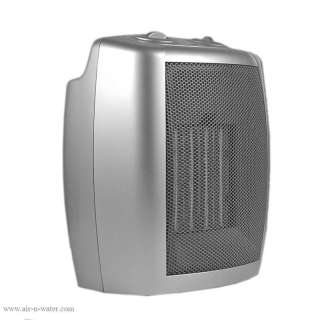 1500 Watt Ceramic Space Heater With 2 Adjustable Heat Settings