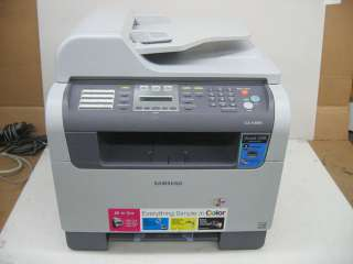 Samsung CLX 3160FN Color Laser Copy/Fax/Scan USB/NET MFP 635753712490