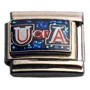 Arizona Wildcats Glitter Charm NCAA College Athletics Fan