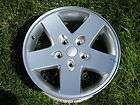 17 JEEP WRANGLER FACTORY ORIGINAL SILVER WHEEL OEM RIM 9074A #4