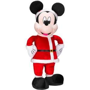 Disney Mickey Mouse Santa Plush 28 Toys & Games