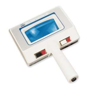 UV Light with Magnifier, Two White and Two UV Bulbs / 230V: