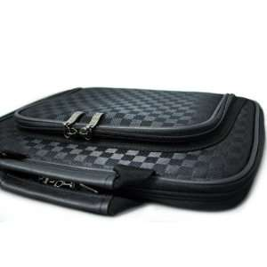 CaseCrown Double Memory Foam Thin Pouch Case (Checkered
