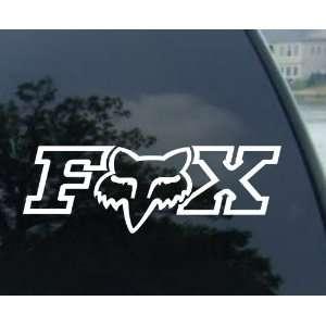 6 Fox Racing   Car, Truck, Notebook, Vinyl Decal Sticker