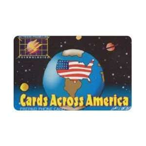 Collectible Phone Card $10. Cards Across America Design