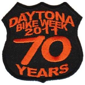 DAYTONA Rally 2011 70 Years BIKE WEEK Biker Vest Patch