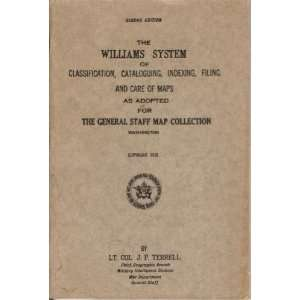 THE WILLIAMS SYSTEM of Classification, Cataloguiing