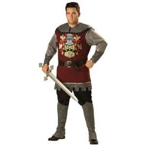 Plus Size Noble Medieval Knight Costume: Toys & Games