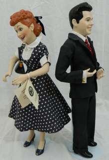 Lucille Ball & Desi Arnaz (Ricky) 16 Dolls I Love Lucy