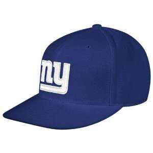 York Giants Royal Blue Sideline Flat Bill Fitted Hat (8) Sports