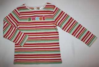 Gymboree Cupcake Cutie Stripe Sweet Shirt Top NWT