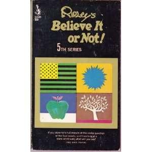 Ripleys Believe It or Not 5th Series Robert Ripley Books