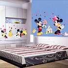 Disney Mickey Minnie Heart shaped Wall Decor Stickers