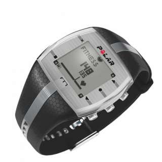 Heart Rate Monitor Watch Black/Silver Fitness & Cross Training