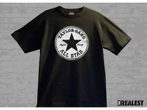 TAYLOR GANG ALL STARS T SHIRT SZ L WIZ KHALIFA SHIRTS