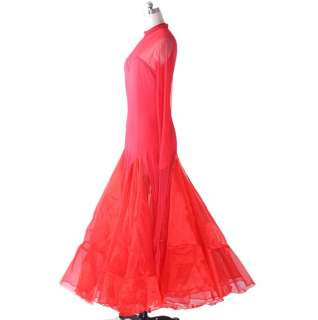 Flamenco Ballroom Long Dance Dress #S8018 2 colours in