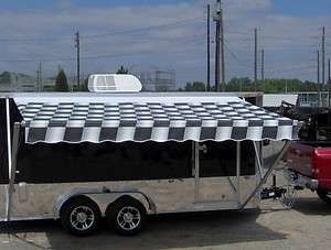 motorcycle cargo trailer A/C unit w awning toy hauler camper NEW
