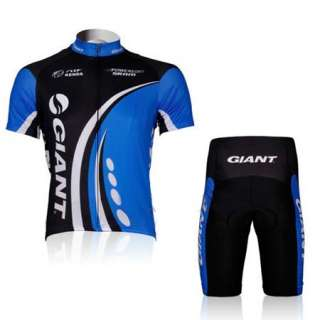 2012 New Cycling Bicycle Bike Comfortable Outdoor Jersey + Shorts M