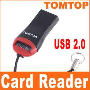 Mini USB 2.0 Micro SD T Flash TF M2 Memory Card Reader