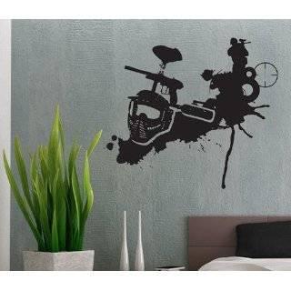 Paintball   Vinyl Wall Decals Murals Stickers Art Graphic   40H x48W